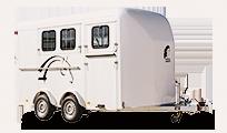 three horse trailer